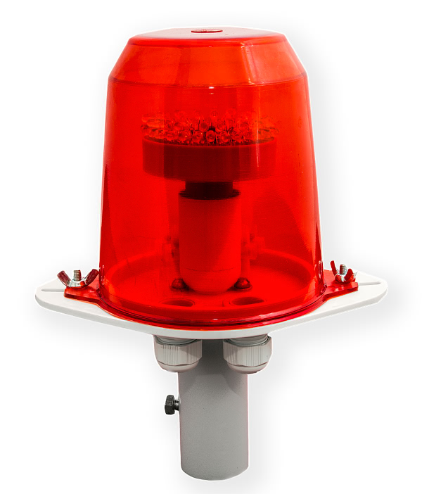 ЗОМ для светоограждения, со светодиодной лампой